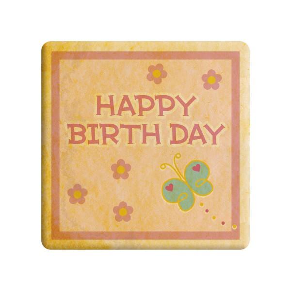 【HAPPY BIRTHDAY】誕生日をお祝いするメッセージクッキー《誕生日・プチギフト》【プリントクッ