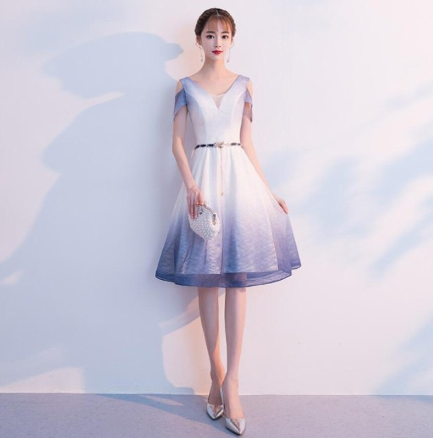 b20be8f42b8d8 パーティドレス 結婚式 ドレス お呼ばれ ワンピース 20代 30代 40代 2018秋服 秋sale お呼ばれドレス 冬