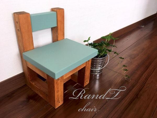 椅子 おしゃれ 木製 グリーンウォルナット イス いす 子供 チェア 観葉植物 かわいい アンティーク 天然木 木材