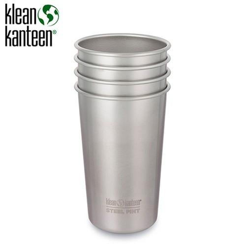 クリーンカンティーン パイントカップ 16oz 4pack ステンレス (Klean Kanteen) |アウトドア アウトドア用品 アウトドアー 用品 アウトド