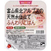 富山県北アルプスの天然水仕立てふんわりごはん 200g×3食【8個セット(計24食分)】レトルトごはん★非常用ごはんとして