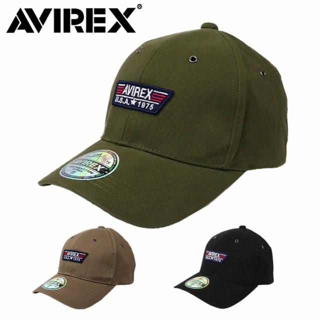 アビレックス ローキャップ メンズ 帽子 AVIREX アヴィレックス AX TP PATCH LOW CAP ミリタリー アメリカ USA