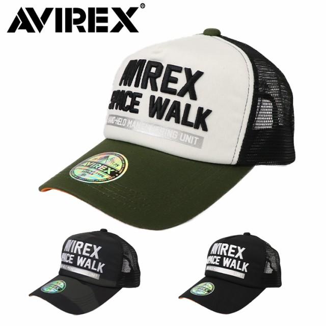 アビレックス メッシュキャップ メンズ 帽子 AVIREX アヴィレックス AX SPACE WALK MESH CAP ミリタリー