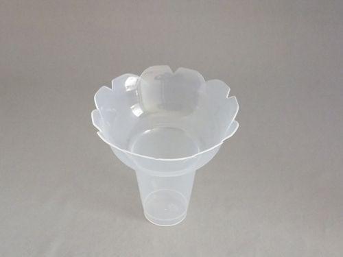 【個人宅配送別途送料】シンギ フラッペカップ PPフラッペ小 ナチュラル φ130×120mm 1ケース300個入り