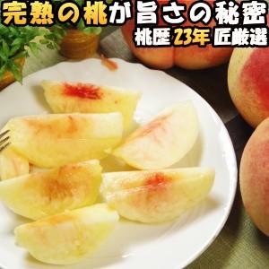桃 山梨 お中元 ギフト 御坂の桃 完熟の桃 4kg 11-12玉入 お盆 お供え 白桃 白鳳 送料無料