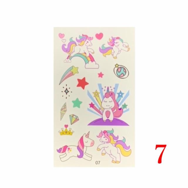 キッズ 子供用 タトゥーシール フェイクタトゥー ファッションシール 可愛い おしゃれ No.07