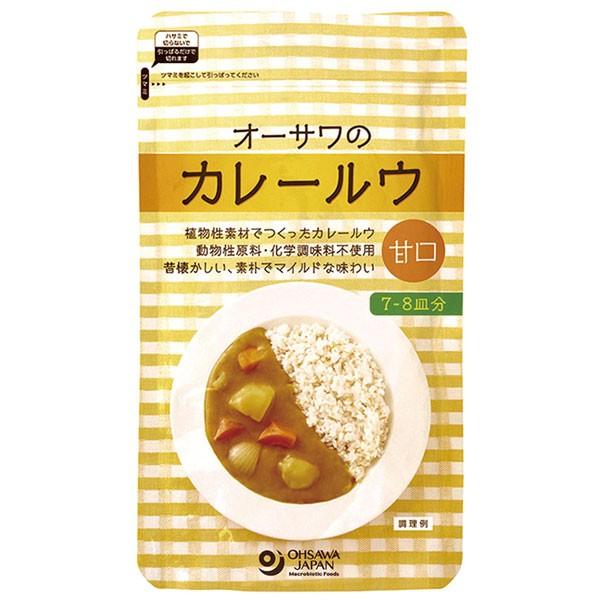 オーサワのカレールウ(甘口)(160g)【オーサワジャパン】