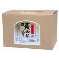 有機立科麦みそ・箱入(3.6kg)【大容量商品】【オーサワジャパン】