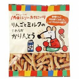 メイシーちゃん(TM)のおきにいり りんごとミルクのやわらかかりんとう(50g)【創健社】