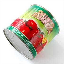 イタリア/ピッツェリアご用達!カンポグランデ社製:ホールトマト【2550g缶】【常温/全温度帯可】【D+2】【お中元 ギフト】