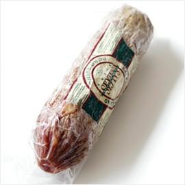 サラミ イタリア産/創業1941年サルチス社製:アントニオが作る サラミ トスカーナ サラミ 生ハム【約400g】【land】【冷蔵/冷凍可】【D+0