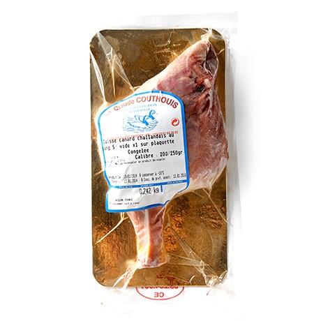 フランス:シャラン産キュイスドカナールシャラン(鴨骨付きモモ肉)【250g-350g】【冷凍のみ】【D+0】【お中元 ギフト】