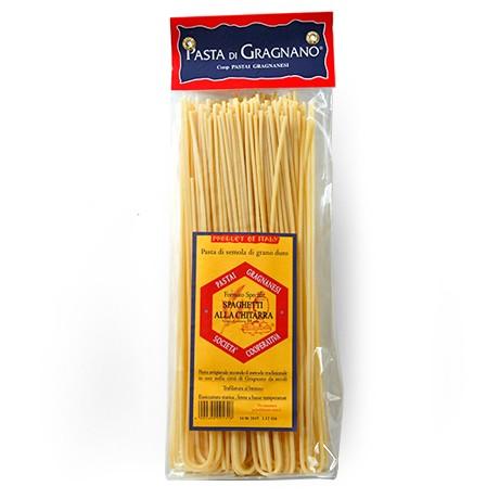 パスタ グラニャーノ産グラニャネージ社:スパゲティキッタラ/spaghetti alla chitarra【500g】【常温/全温度帯可】【D+2】【お中元 ギフ