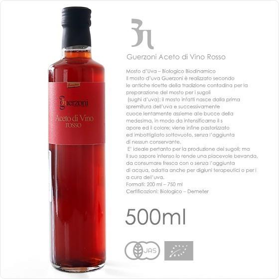 有機赤ワインビネガー 500ml 【常温/冷凍不可】【お中元 ギフト】