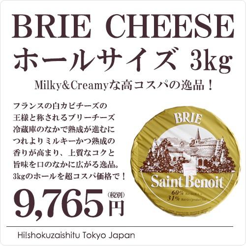 チーズ リュースティックブランド ブリーチーズ 3kg【お中元 ギフト】