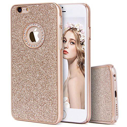 e583773da0 Imikoko iPhone6sケース iPhone6sケース キラキラケース ハード 耐衝撃 薄型 おしゃれ かわいい ブランド (iPhone