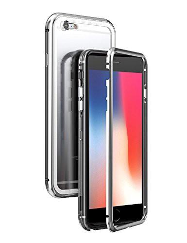 0fc06dd017 iPhone 6 マグネット式ケース uovon アイフォン 6s 薄型高品質金属バンパー メタルカバー 人気
