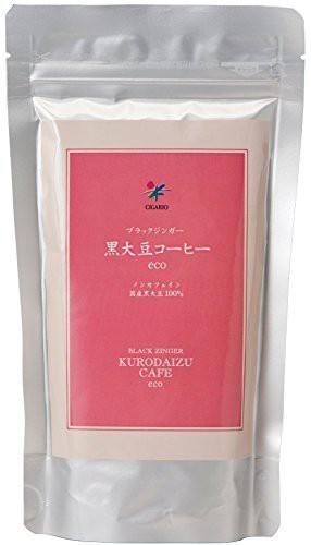 送料無料!ブラックジンガー黒大豆コーヒーecoお徳用120g