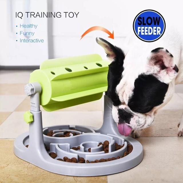 餌入れ IQトレーニング スローフィーダー ペット 犬 食器 おもちゃ