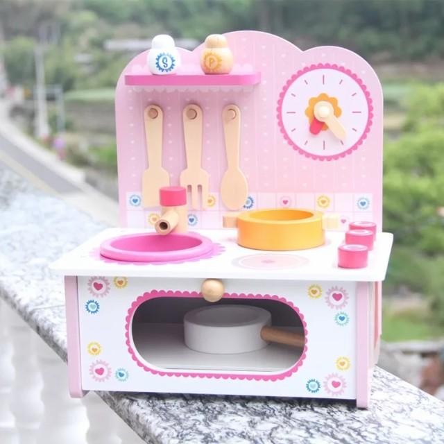 kids木製玩具おままごとキッチンセット