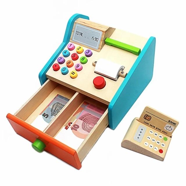 GM_kids木製玩具おままごとレジスター