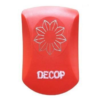 クラフトパンチ DECOP エンボスパンチ ガザニア 花 花岡 スクラップブッキング パンチ ペーパークラフト スクラップブック