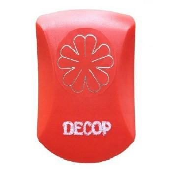 クラフトパンチ DECOP エンボス パンチ クローバー 花 ペーパークラフト 花岡 スクラップブッキング クラフト カード スクラップ