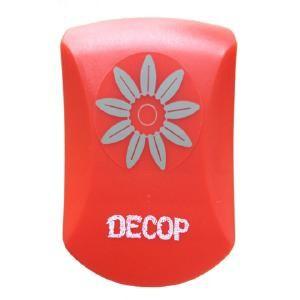 クラフトパンチ DECOP エンボスパンチ サンフラワー Middle ひまわり 花 ペーパーインテリジェンス スクラップブック