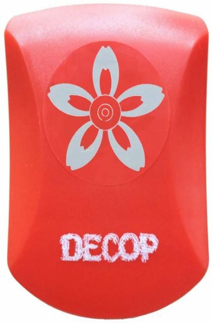 DECOP クラフトパンチ エンボス パンチ クラフト パンチ ペタル 1 花 ペーパー クラフト カード スクラップブッキング