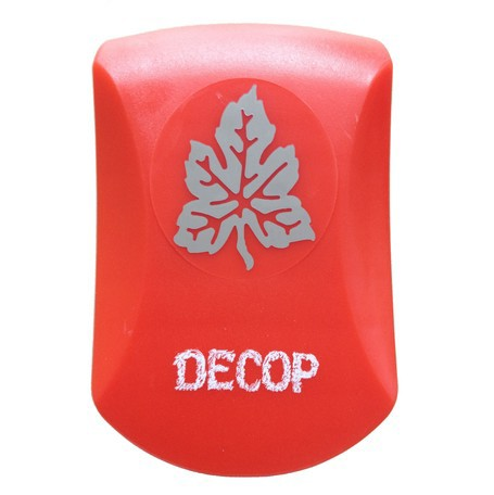 クラフトパンチ DECOP エンボス パンチ クラフト パンチ グレープ ブドウ 葉 花岡 スクラップブッキング ペーパークラフト