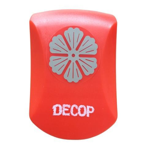 DECOP クラフトパンチ エンボス パンチ フローラル 花 花岡 ペーパークラフト スクラップブッキング カード