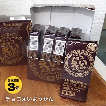 井村屋の羊羹 チョコえいようかん 賞味期限3年 5本入り