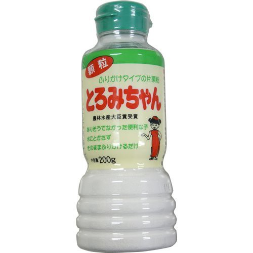 とろみちゃん 顆粒片栗粉 200g×6本セット
