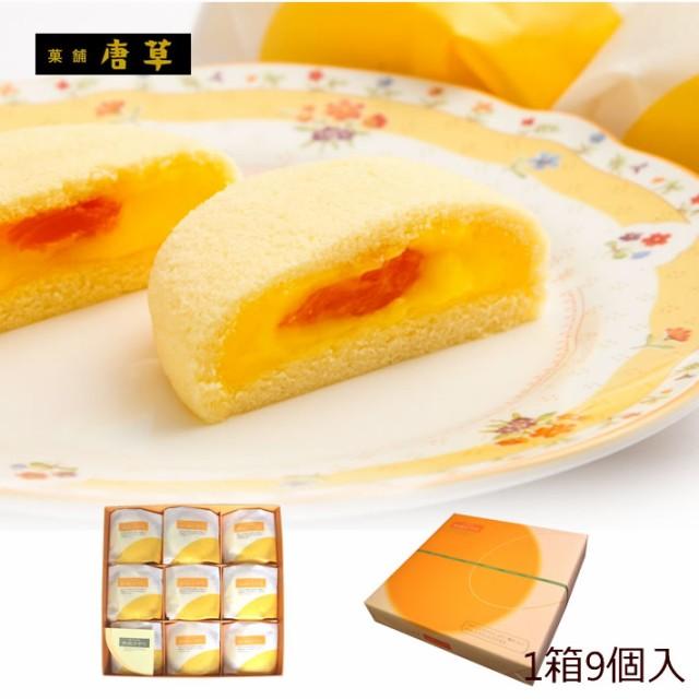 九州 長崎 土産 唐草 枇杷かすた物語 9個入 スポンジ ケーキ びわ 入り 3 980円以上 送料無料 枇杷 お土産