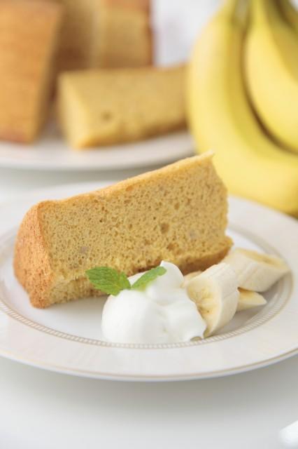 特選米粉のシフォンケーキ(バナナ)