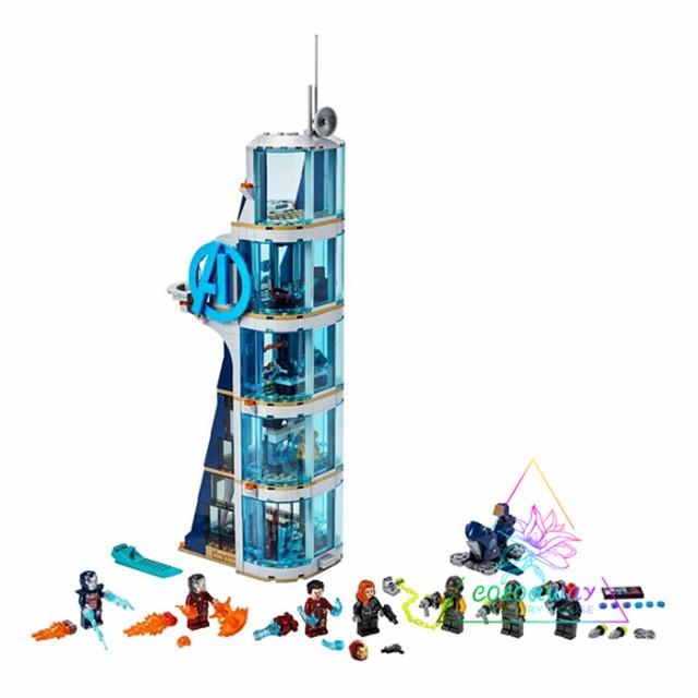レゴ 互換品 レゴ LEGO ブロック スーパー・ヒーローズ アベンジャーズ タワーの攻撃 ヒーロー出動!新品