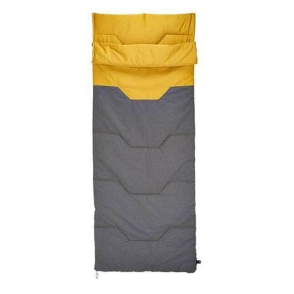 寝袋 封筒型 QUECHUA コンパクト 大人 キャンプ シュラフ 軽量 洗濯機で丸洗いできる寝袋