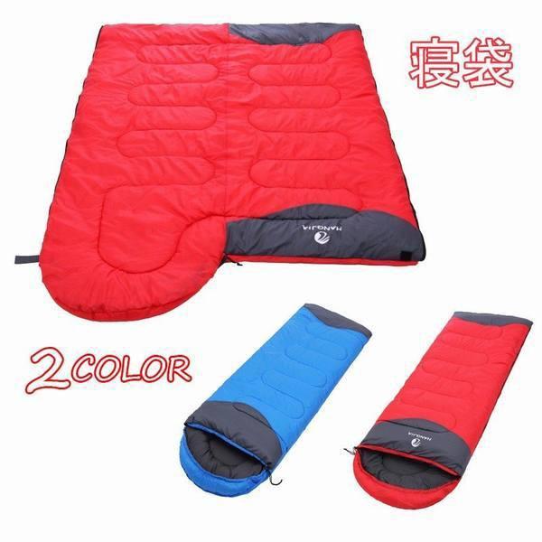 封筒型寝袋 寝袋 ポータブル 冬 厚手 防寒 スリーピングバッグ 軽量 コンパクト アウトドア キャンプ 旅行 寝袋
