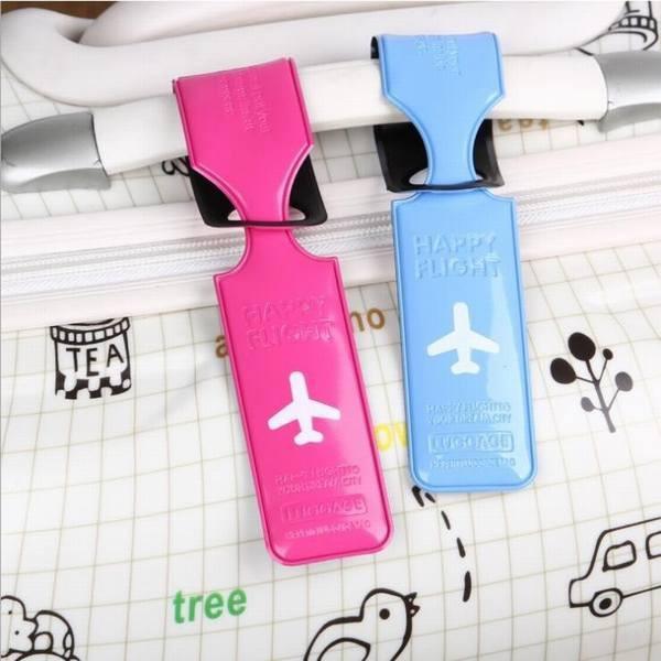 ネーム タグ スーツケース 名札 旅行 用品 カラフル ゴルフバッグ 縦型 キャリーケース 対応 6color