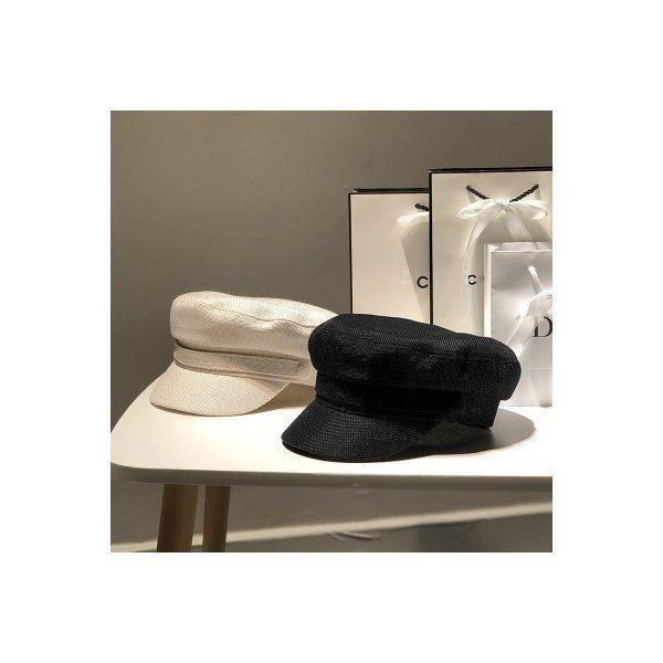 マリンキャスケット マリンキャップ 帽子 レディース 女性用 学生帽 ギフト プレゼント カジュアル レトロ風 オシャレ ファッション 可愛
