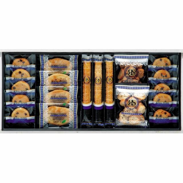ロイヤルスイートコレクション RC-25 ロングスティックパイ、ミニラスク(プレーン、キャラメル)、チョコチップクッキー、リーフパイ