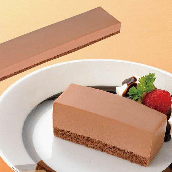 【学校給食】【冷凍食品】【味の素冷凍食品】フリーカットケーキ レアーチョコ36センチ