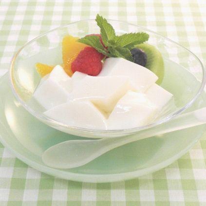【学校給食】【日東ベスト】【冷凍食品】【学校給食】やわらか杏仁豆腐 1kg