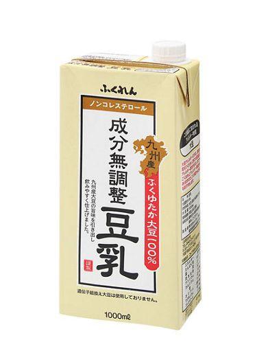 成分無調整豆乳 1L×6本 紙パック