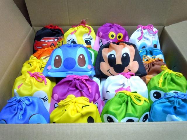 お菓子詰め合わせ ディズニー フェイス巾着袋入り 大量 150個セット