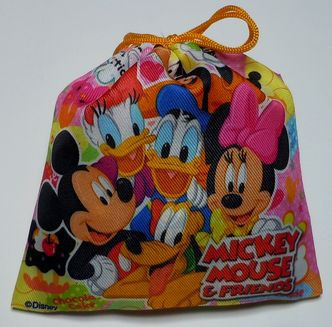 お菓子 詰め合わせ ディズニー カラフル巾着袋入り 100円