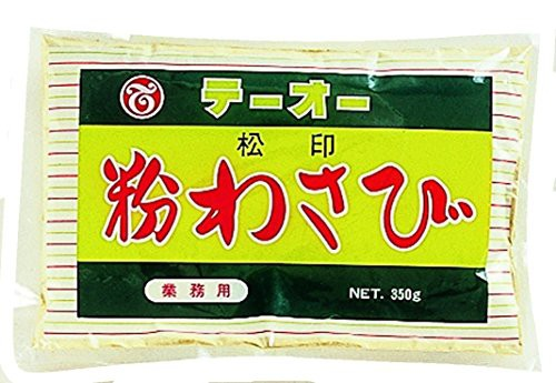 テーオー食品 粉わさび 松印 350g袋×4袋