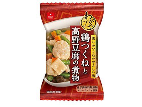 アスザック 鶏つくねと高野豆腐の煮物 12g×5個