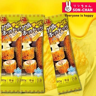 ソウルチーズホットドッグ チーズ15%増量80g×3本 話題の韓国屋台の定番 ホットドック チーズハットグ