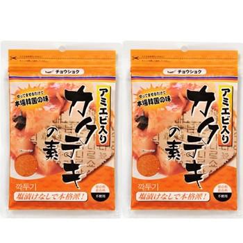 カクテギの素120gx2個 切ってまぜるだけで本場韓国の味!保存料、着色料、不使用 より安いメール便